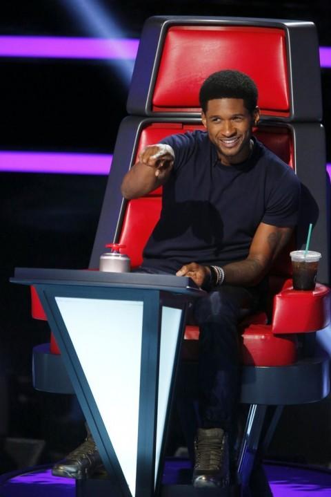 The Voice USA 2014 Spoilers: Meet Team Usher – Season 6 ...  Usher Afro The Voice