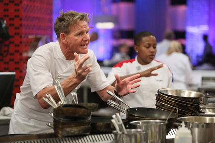 Hells Kitchen Eliminated During Service
