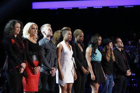 The Voice USA 2015 Spoilers - Voice Results - Voice Top 8