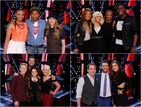 The Voice USA 2015 Spoilers - Voice Top 10 Predictions