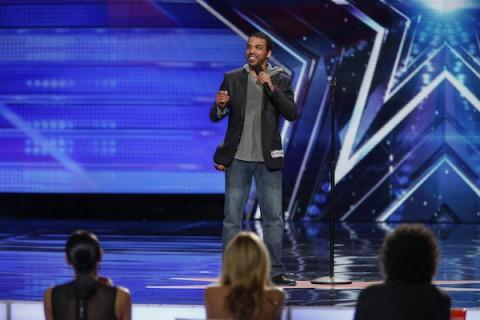 America's Got Talent 2015 Spoilers - Chris Jones - Howie Shakes Hands