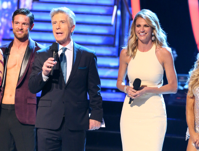 NOAH GALLOWAY, TOM BERGERON, ERIN ANDREWS