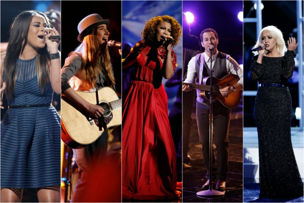 The Voice USA 2015 Spoilers - Voice Results - Voice Top 5