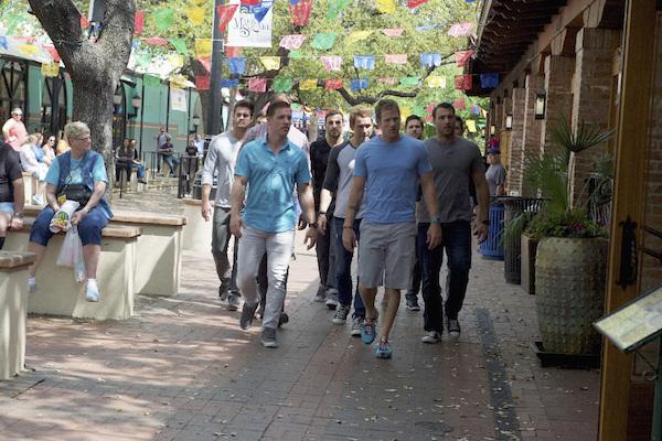 JOE, JUSTIN, TANNER, NICK VIALL, JOSHUA, JJ, BEN Z.