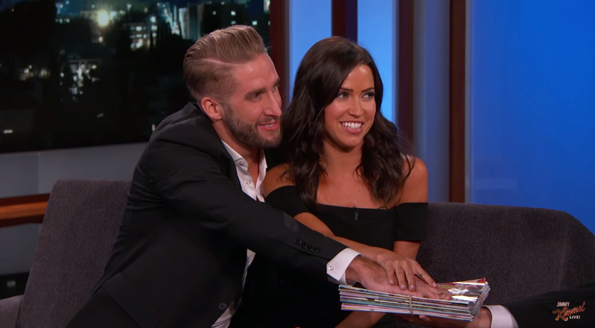 The Bachelorette 2015 Spoilers - Kaitlyn and Shawn on Jimmy Kimmel Live