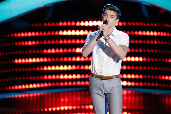 The Voice USA 2015 Spoilers - Voice Blinds - Chance Pena