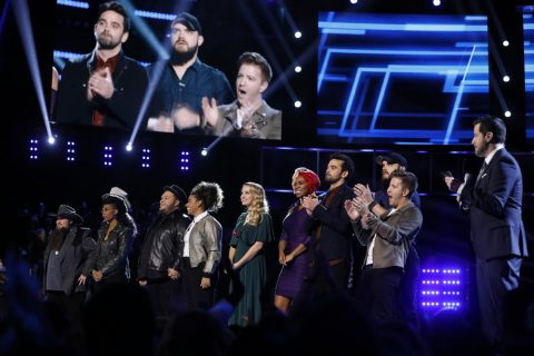 The Voice USA 2016 Spoilers - Voice Top 11 Results